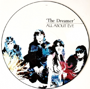 "All About Eve - The Dreamer (12"") (Picture Disc) (VG+/VG-)"